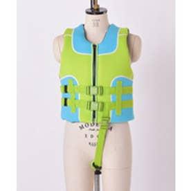 VacaSta Swimwear(Kids) 無地フローティングベスト(グリーン)【返品不可商品】