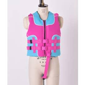 VacaSta Swimwear(Kids) 無地フローティングベスト(ピンク)【返品不可商品】