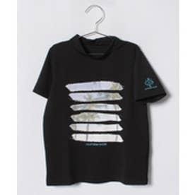 VacaSta Swimwear(Kids) CaliforniaShore男児半袖ラッシュガードTシャツ(ブラック)【返品不可商品】