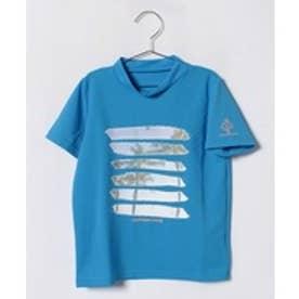 VacaSta Swimwear(Kids) CaliforniaShore男児半袖ラッシュガードTシャツ(ブルー)【返品不可商品】