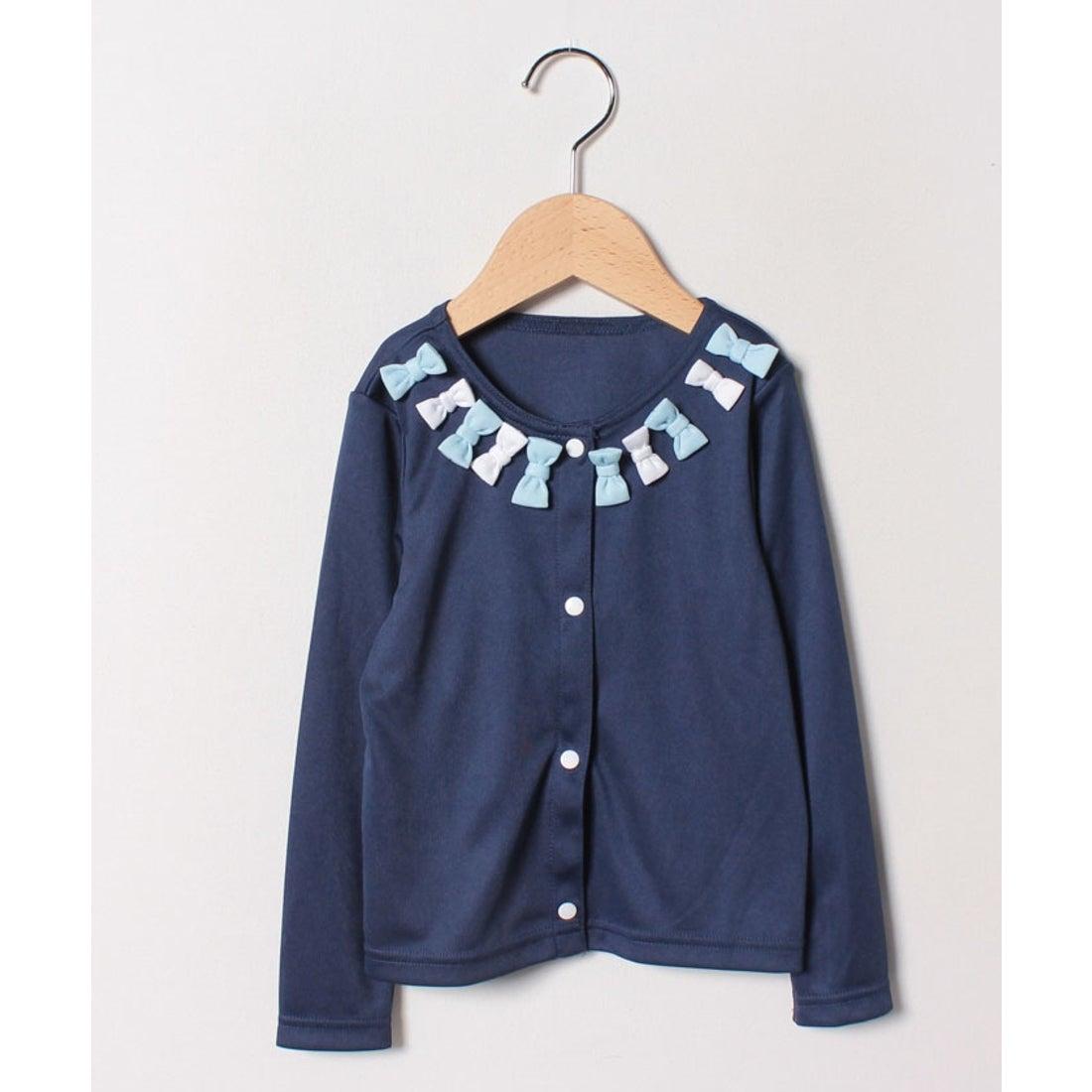 ロコンド 靴とファッションの通販サイトVacaSta Swimwear(Kids) REYES REYESボタン付胸元リボンUVウェア(ネイビー)