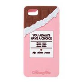MERCURYDUO Chocolate シリコンiPhone(ピンク)
