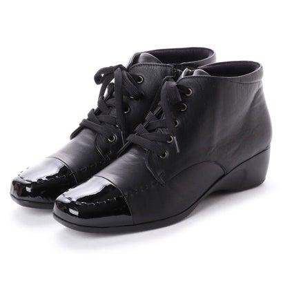 アトリエ Atelier アトリエ ショートブーツ (ブラック)