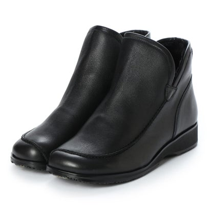 アトリエ Atelier 【4E】インナーファーショートブーツ (ブラック)
