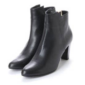 マリー ファム Marie femme アンクルメタルショートブーツ (ブラック)
