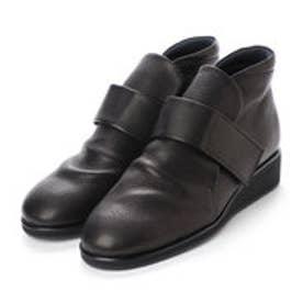 モード エ ジャコモ ディッシィ MODE ET JACOMO DICI 【クッション入り】ベルテッドショートブーツ (ブラック)