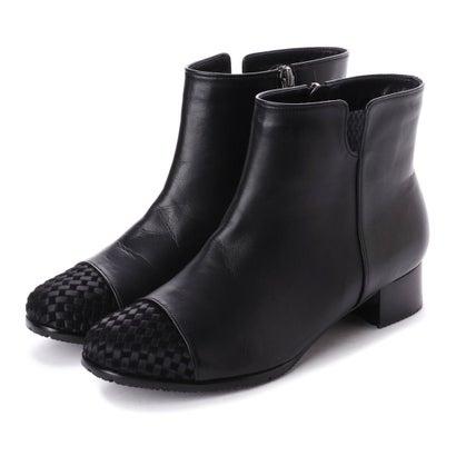 リズ コンフォート Riz Comfort リズコンフォート ショートブーツ (ブラック)