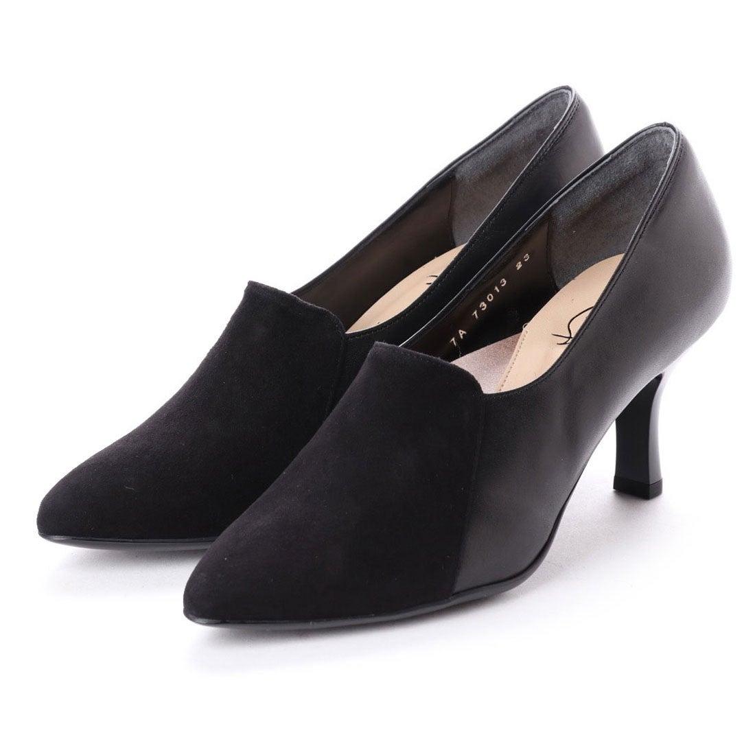 ロコンド 靴とファッションの通販サイトスタイルラボ STYLE lab スタイルラボ パンプス (ブラックコンビ)