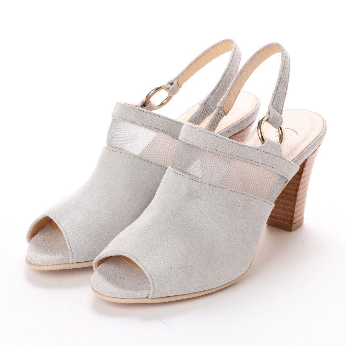 ロコンド 靴とファッションの通販サイトスタイルラボ STYLE lab チュールコンビカバードサンダル (ライトグレースエード)
