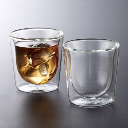 ボダム スカル ペアダブルウォールグラス2個セット