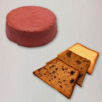 スイートジュエル 赤チーズケーキセット【ラッピング不可】