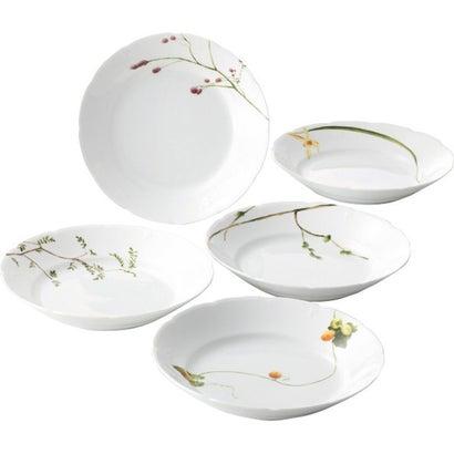ナルミ 里花暦 カレー&パスタ皿5枚セット