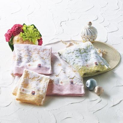 しまなみ匠の彩・白桜 バス・フェイス・ウォッシュタオルセット(木箱入)