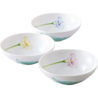 香蘭社 カラーリリー 三ッ組中鉢