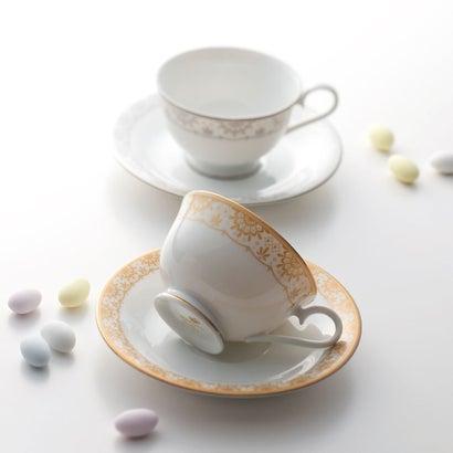 ナルミ アウ&プティ ペアティー・コーヒー碗皿
