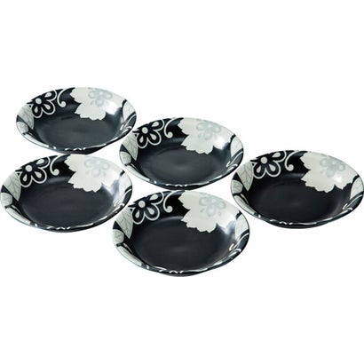 スタイリッシュフラワー カレー皿5枚セット
