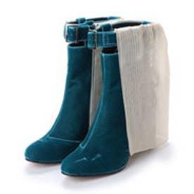 ナンバートゥエンティワン NUMBER TWENTY-ONE ブーツ (BLUE)