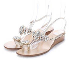 ナンバートゥエンティワン NUMBER TWENTY-ONE 婦人靴 (GD/WH)