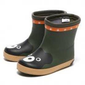 ミキハウスダブルビー レインブーツ(長靴) / mikihouse DOUBLE_B Rain boots (カーキ)