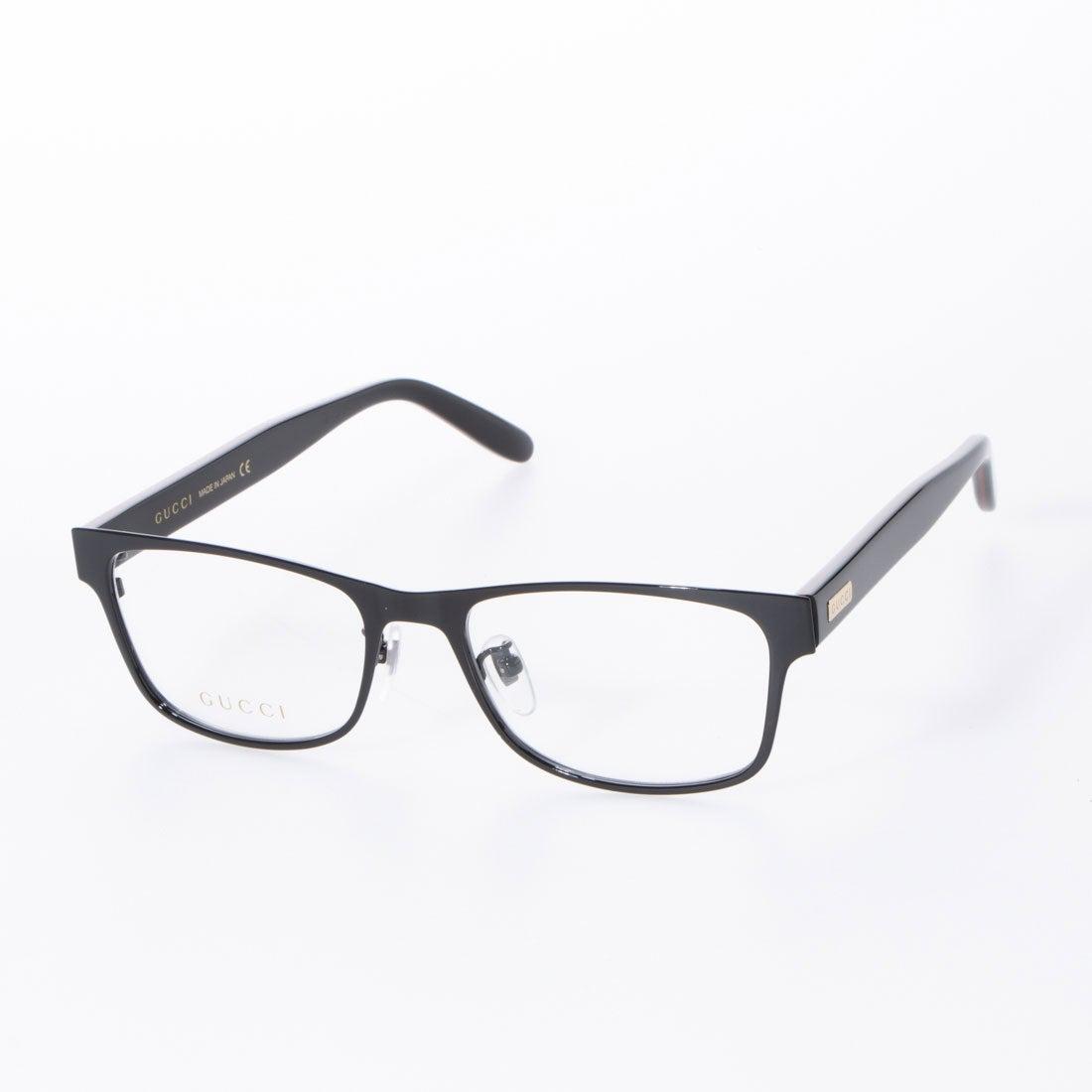グッチ GUCCI メガネ 眼鏡 アイウェア レディース メンズ (ブラック)