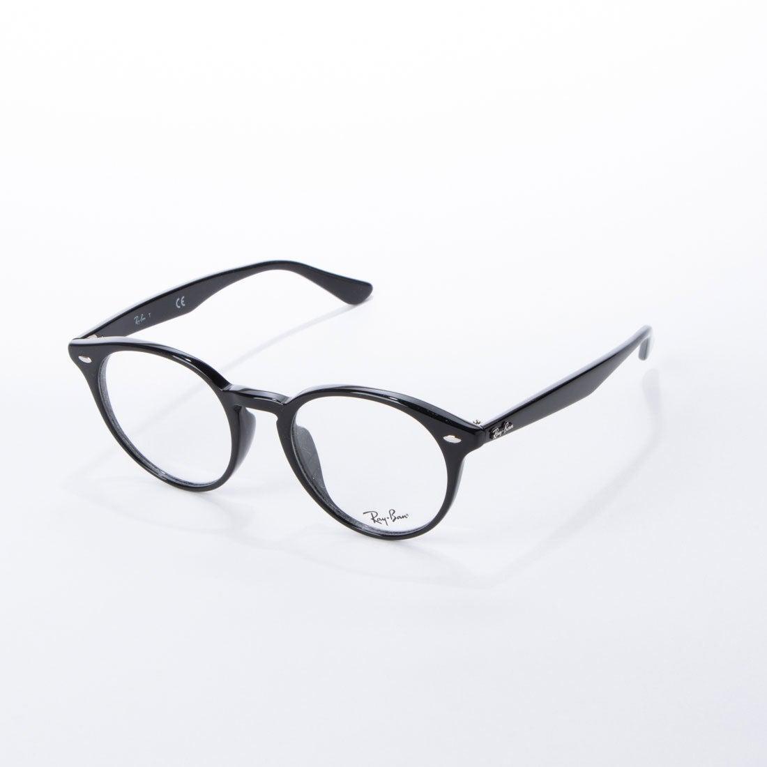 レイバン Ray-Ban メガネ 眼鏡 アイウェア レディース メンズ (ブラック)