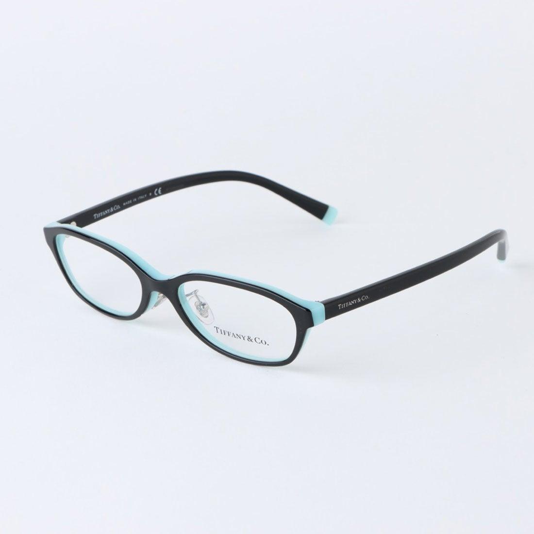 ティファニー TIFFANY メガネ 眼鏡 アイウェア レディース メンズ (ブラック)