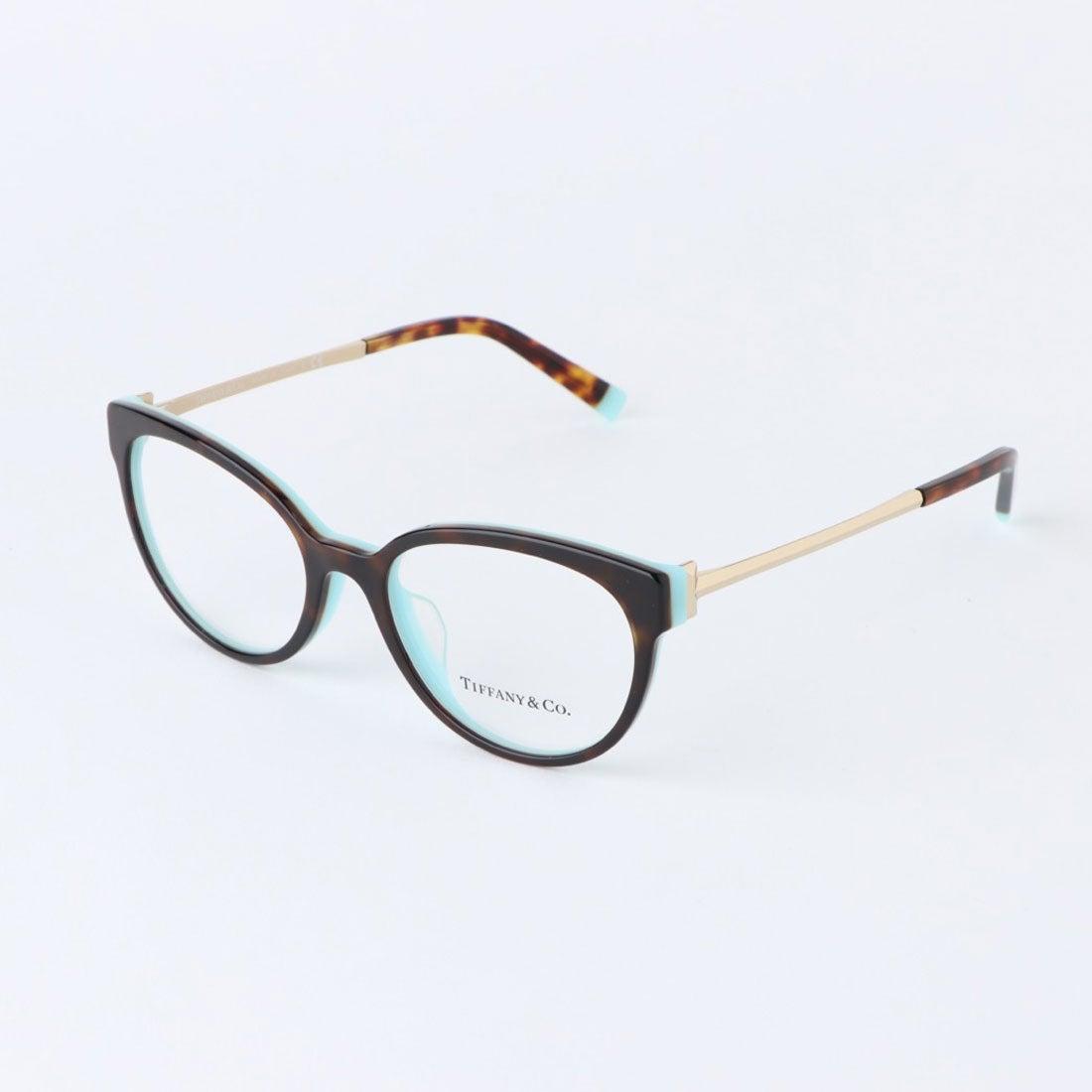 ティファニー TIFFANY メガネ 眼鏡 アイウェア レディース メンズ (ハバナ)