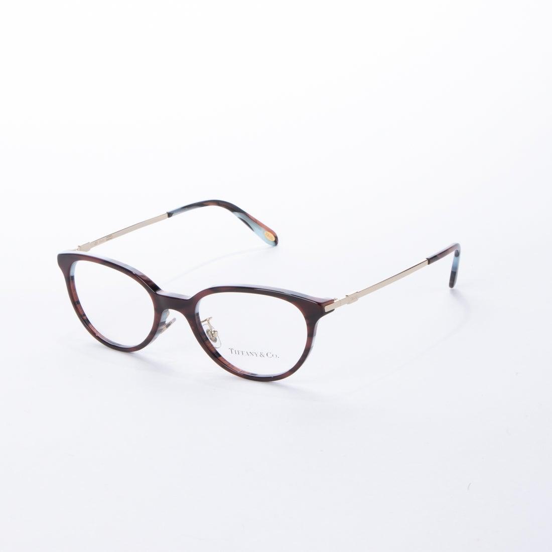 ティファニー TIFFANY メガネ 眼鏡 アイウェア レディース メンズ (レッド)