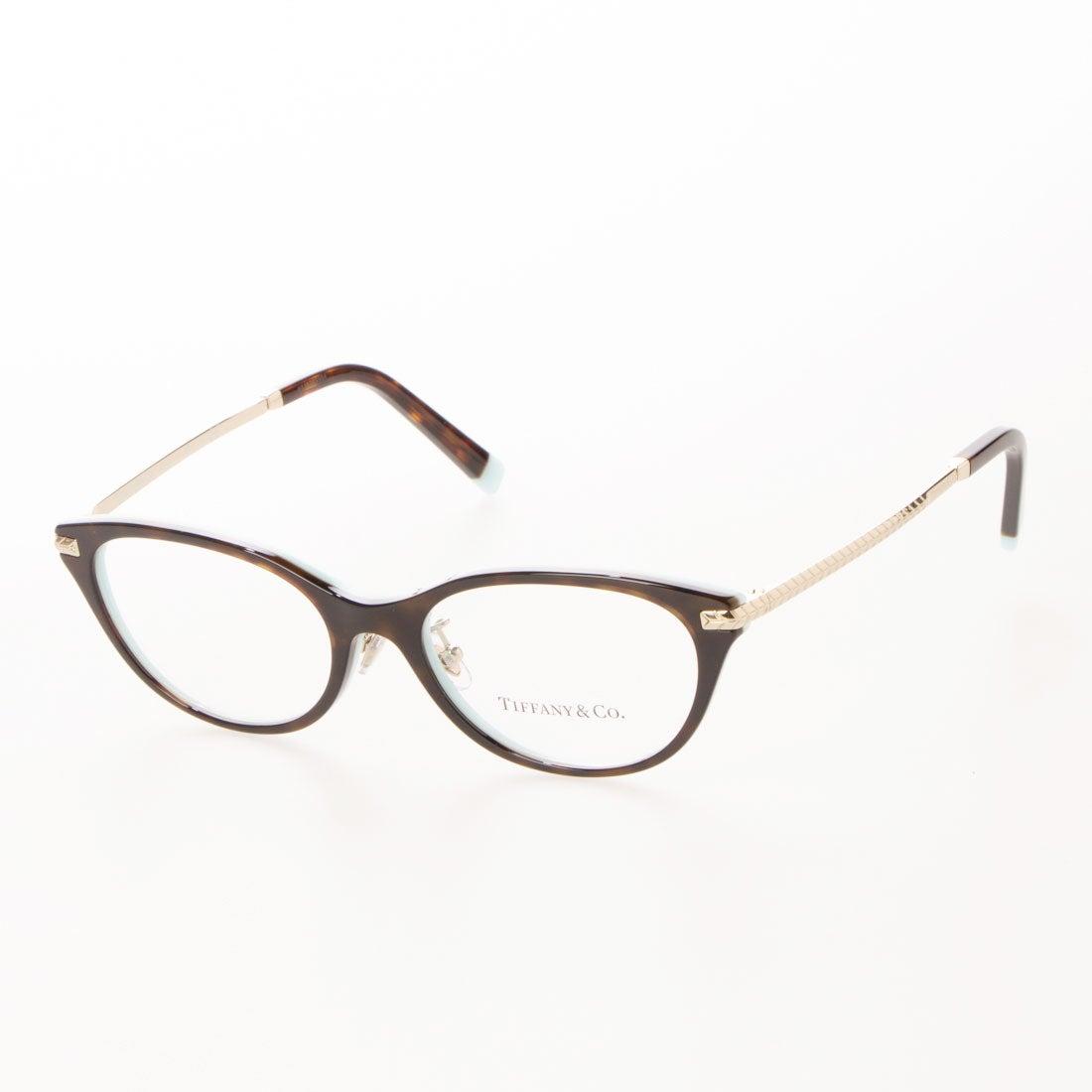 ティファニー TIFFANY メガネ 眼鏡 アイウェア レディース メンズ (ハバナオンティファニーブルー)