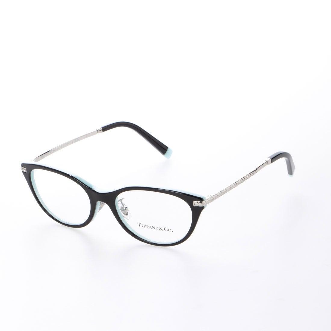 ティファニー TIFFANY メガネ 眼鏡 アイウェア レディース メンズ (ブラックオンティファニーブルー)