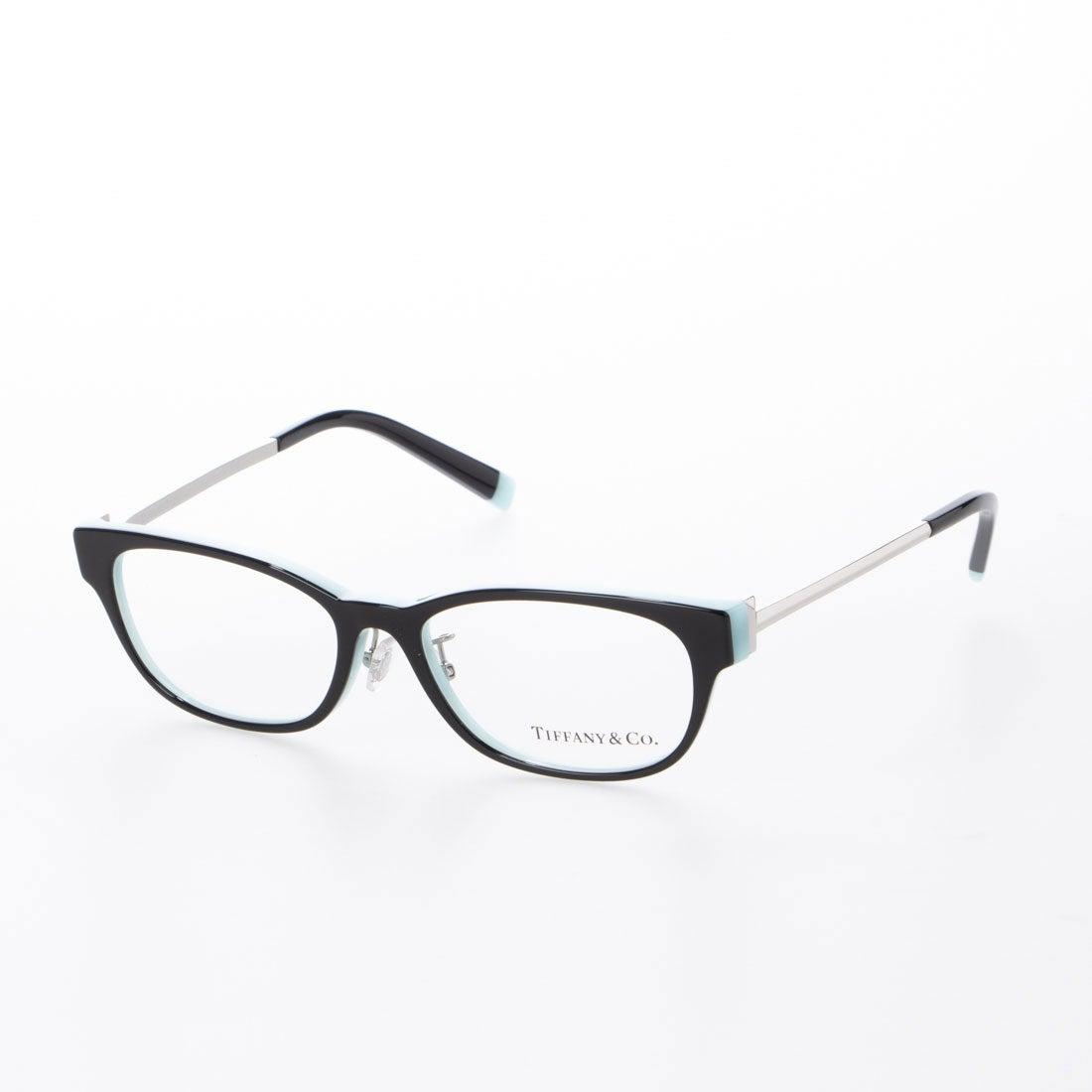 ティファニー TIFFANY メガネ 眼鏡 アイウェア レディース メンズ (ブラック/ティファニーブルー)