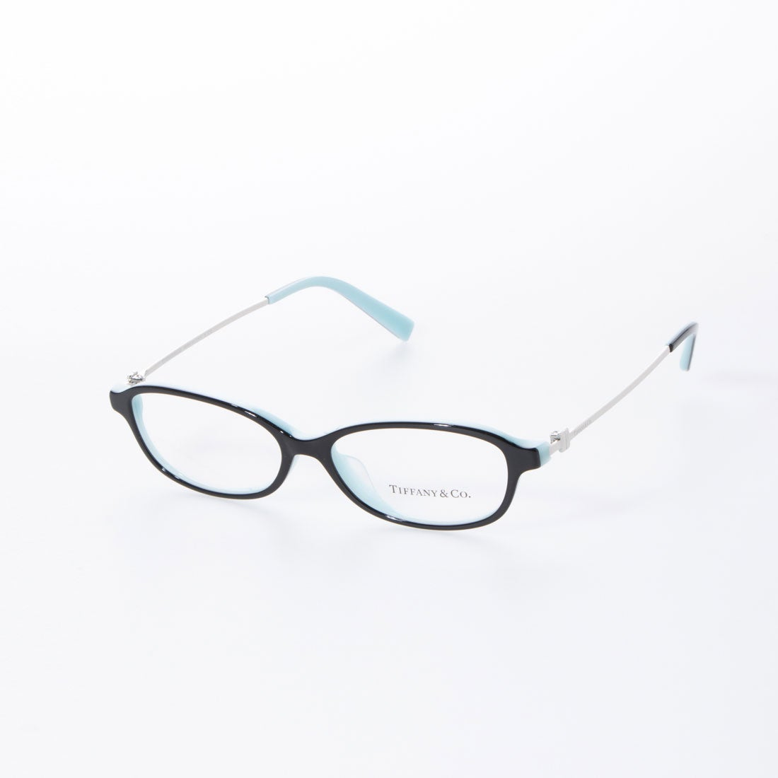 ティファニー TIFFANY メガネ 眼鏡 アイウェア レディース メンズ (ブラック/ブルー)