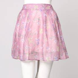 ダズリン dazzlin 【sw】花柄シアーミニスカート