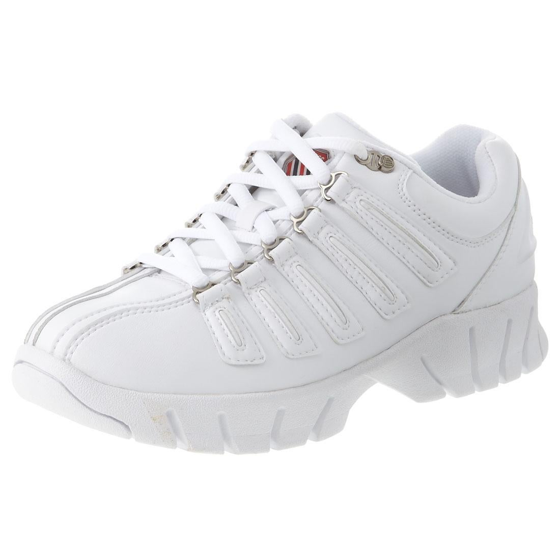 KSWISS ケースイス エバー / K・SWISS EVER(ホワイト) ,靴とファッションの通販サイト ロコンド