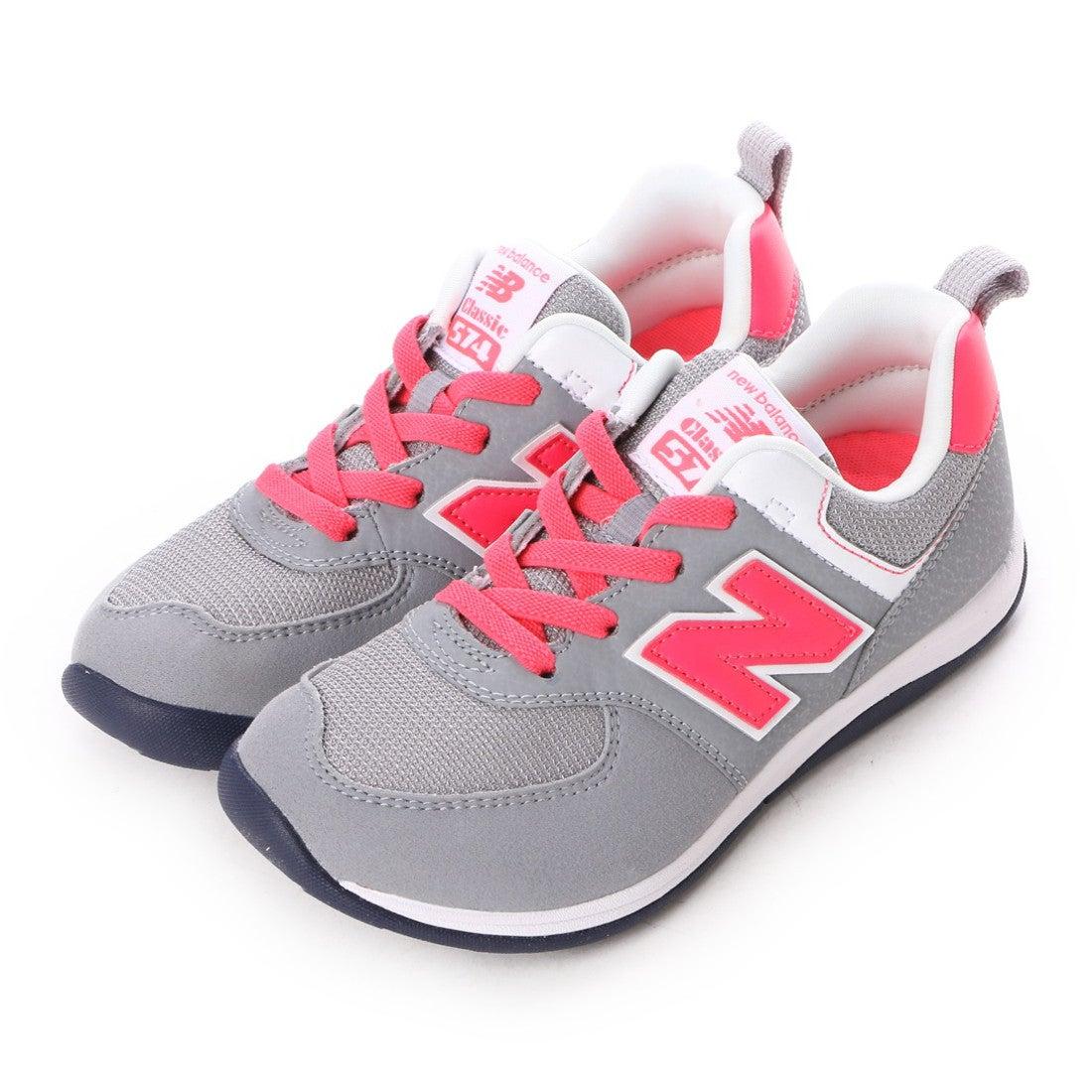b0dfac8699680 ニューバランス new balance NB KS574 BGP (グレー/ピンク) -靴&ファッション通販 ロコンド〜自宅で試着、気軽に返品