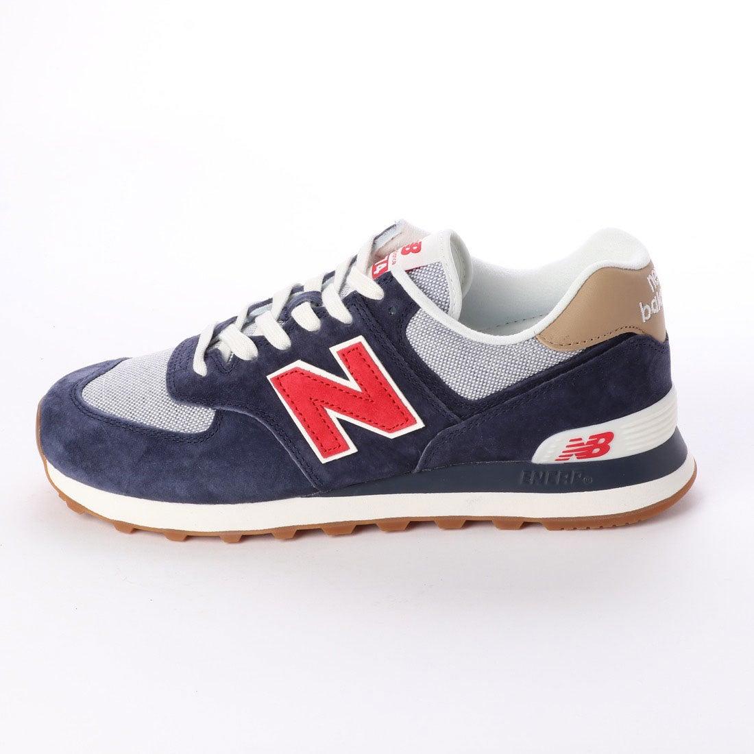 le dernier 5350c ea17f ニューバランス new balance NB ML574 ((PTR)ネイビー)-靴 ...