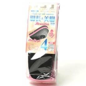 イズフィット is-fit スタイルアップ オールシーズン(ハーフ) 4cm(ブラック)
