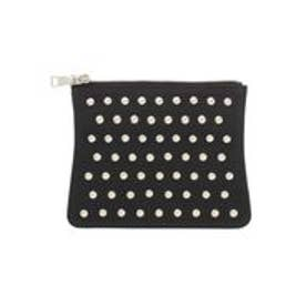 MURUA Dot studded Flap(ブラック)