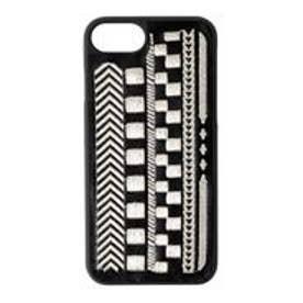 MURUA ラフアフリカン刺繍iPhone6/6S(シルバー)