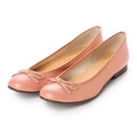 glitter ブランコワール Balancoire glitter 日本製リボンバレエシューズ (ピンク)