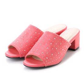 glitter パドリュージュ Padourouge ホットフィックスミュール (ピンク)