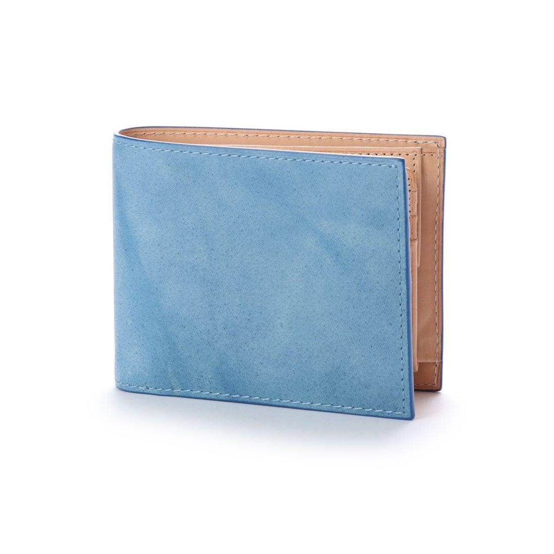 b18295c1f950 バギーポート コーアイ BAGGY PORT KOI 【MORITA & Co.】 藍染めレザー 二つ折り財布 (ブルー) -靴&ファッション通販  ロコンド〜自宅で試着、気軽に返品
