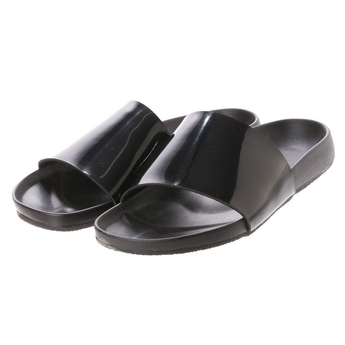 6f86f8138a8c24 AAA⁺ SFW サンエープラス AAA メンズシャワーサンダル (ブラックエナメル) -靴&ファッション通販 ロコンド〜自宅で試着、気軽に返品