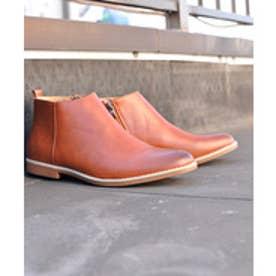 SFW サンエープラス AAA+ 軽くて履きやすくて歩きやすい!シンプルで合わせやすく履いた時のシルエットがきれいなショートブーツ/2356 (ブラウン)