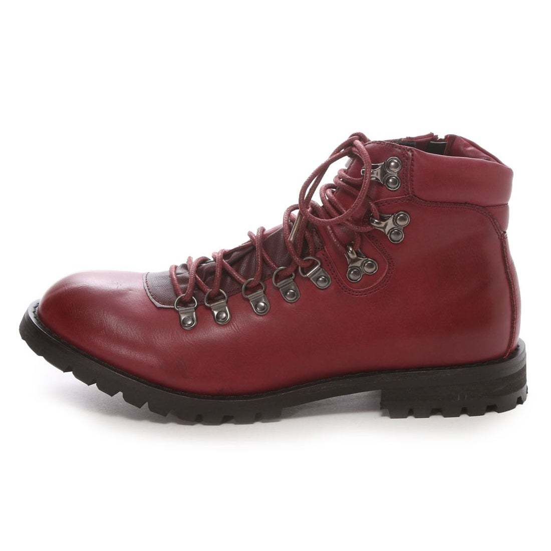 Ladies Red Safety Toe Cap Work Boots 0495