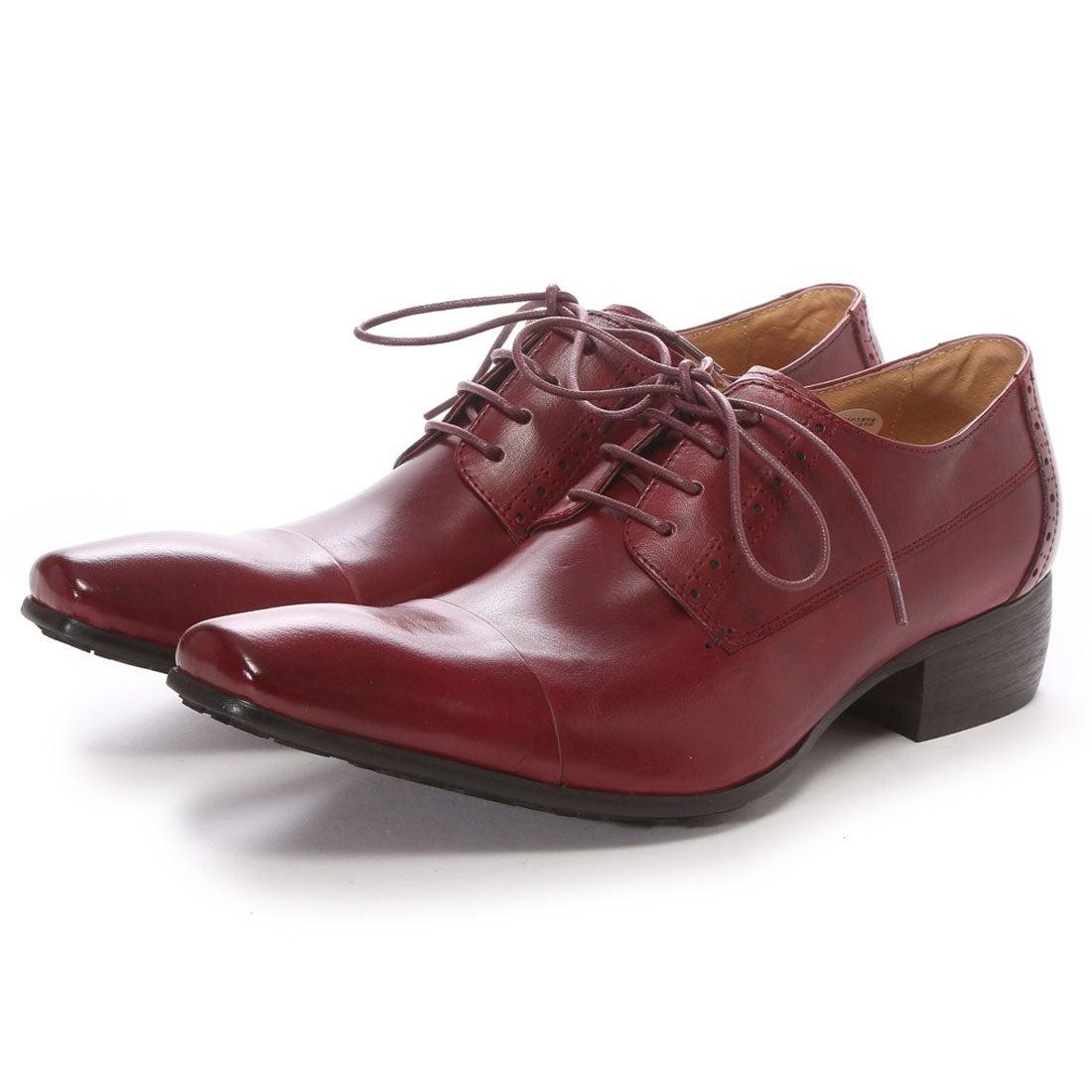 SFW サラバンド SARABANDE バッファローレザー上向きラストビジネスシューズ(外羽根ストレートチップ)(ワイン) -靴&ファッション通販 ロコンド〜自宅で試着、気軽に返品