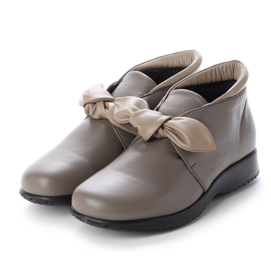ロコンド 靴とファッションの通販サイトウォーカーヒル Walker Hill 大人かわいいリボン 雲の上のはき心地4E コンフォートシューズ (グレージュコンビ)