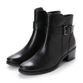 ベルフローリー BELL FLORRIE ベルト付ショートブーツ (ブラック)