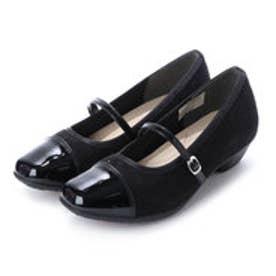 リフレッシュウォーク Refresh Walk 婦人靴 (ブラックスエード)