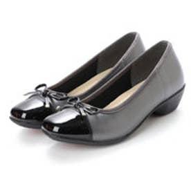 リフレッシュウォーク Refresh Walk 婦人靴 (スチームブラックエナメル)